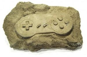 Fossile di console.