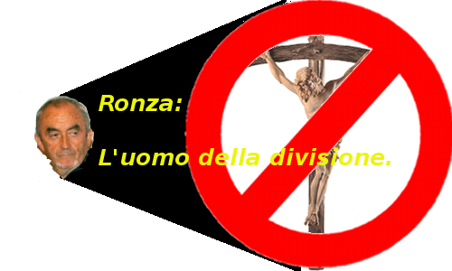 Ronza: un uomo che divide.
