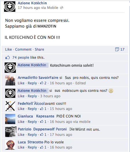 Azione KothechinFBa