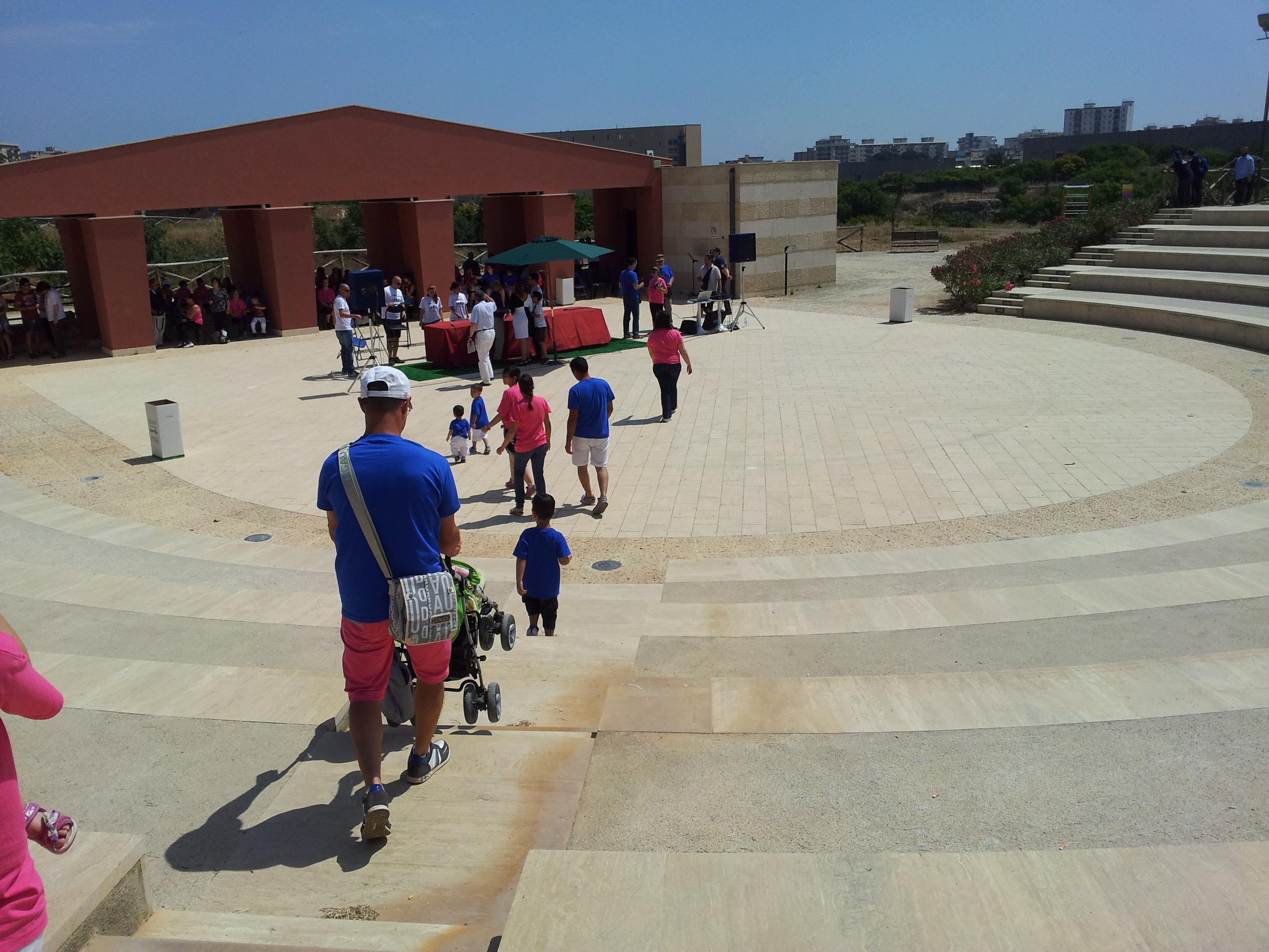 La manifestazione al Parco Cassarà di Palermo al Family Day 2013