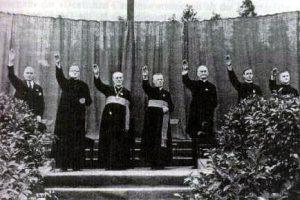 Reichskonkordat vescovi saluto nazista