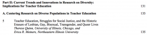 AERA diversity manual contents