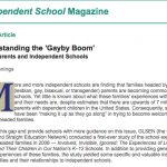 NAIS 2008 gayby boom in private schools