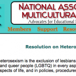 NAME heterosexism