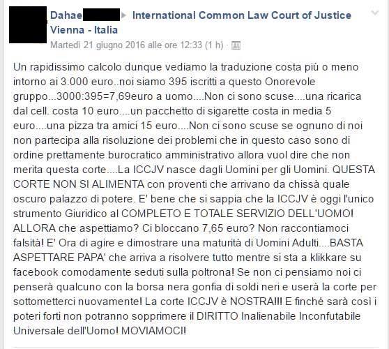 Per la cronaca, 3000€ non ve li chiedono nemmeno quelli, iscritti nei Tribunali agli appositi Albi, che fanno le traduzioni giurate...