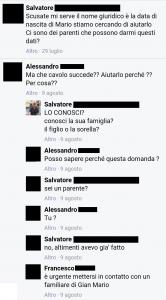 NOME GIURIDICO MARIO